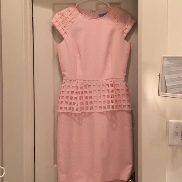0da5f57146 ANTONIO MELANI Dresses   Skirts - Antonio Melani pink peplum dress ...